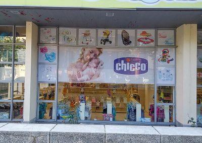 брандиране на магазин на Вис Виталис, София