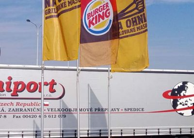 знамена Burger King