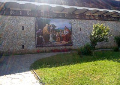 винилно пано 6,00х5,00 м, манастир Св. Козма и Дамян