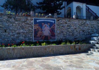 винилно пано, манастир Св. Кирик