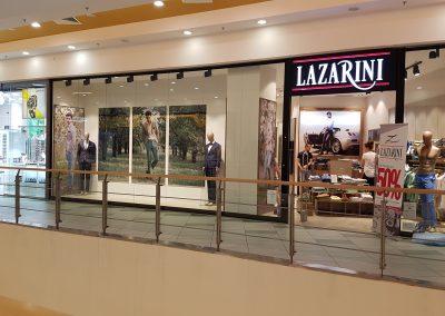 брандиране магазин Лазарини, МОЛ Галерия, Стара Загора