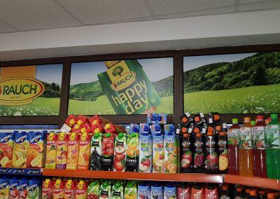 Branding of RAUCH window display